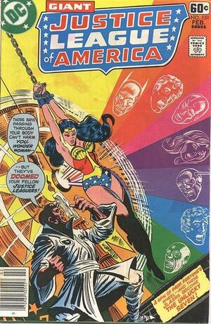 Cover for Justice League of America #151 (1978)