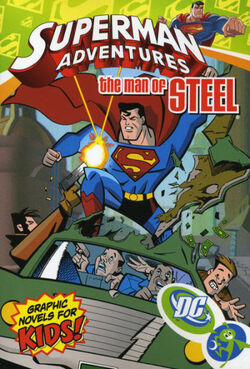 Cover for the Superman Adventures: The Man of Steel Trade Paperback