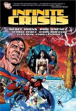 Cover for the Infinite Crisis Trade Paperback