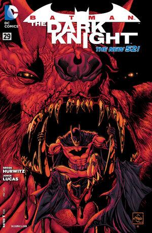 Cover for Batman: The Dark Knight #29 (2014)
