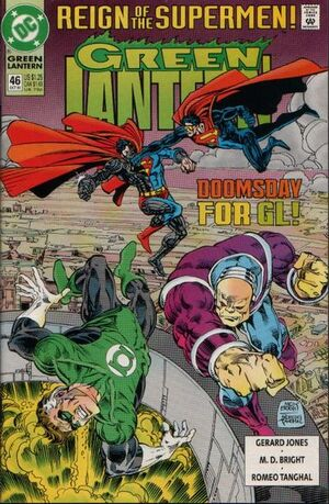 Cover for Green Lantern #46 (1993)