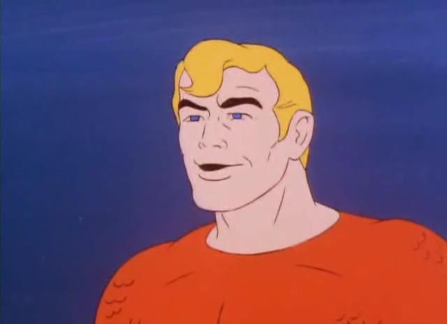 Aquaman Super Friends 001