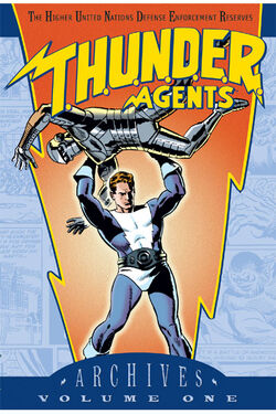 Cover for the T.H.U.N.D.E.R. Agents Archives Vol. 1 Trade Paperback