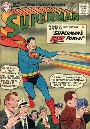 Cover for Superman #125 (1958)