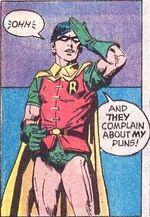 Robin the wisecrack