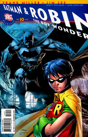Cover for All Star Batman and Robin, the Boy Wonder #10 (2008)