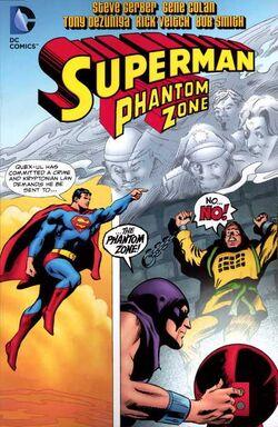 Cover for the Superman: Phantom Zone Trade Paperback