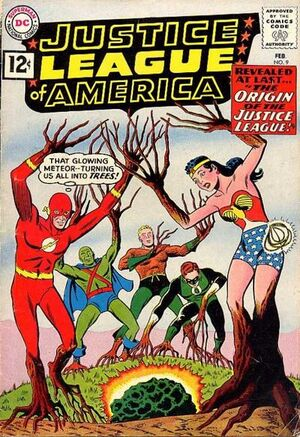 Cover for Justice League of America #9 (1962)