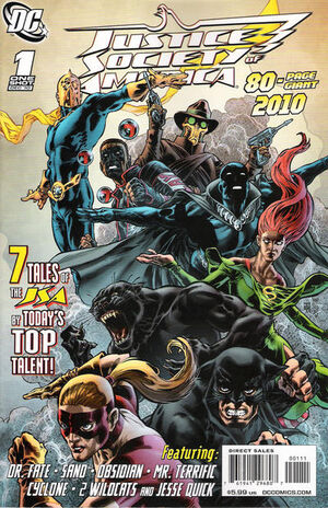Cover for JSA 80 Page Giant 2010 #1 (2010)