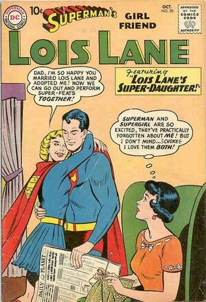 Cover for Superman's Girlfriend, Lois Lane #20 (1960)