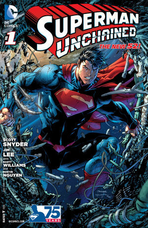 Cover for Superman Unchained #1 (2013)