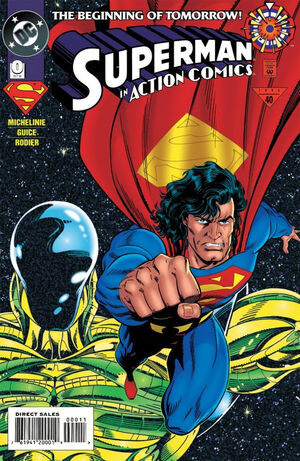 Cover for Action Comics #0 (1994)