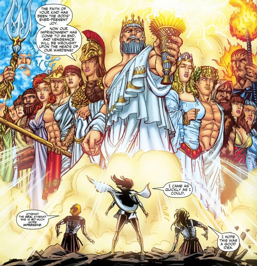 Resultado de imagem para dc greek gods