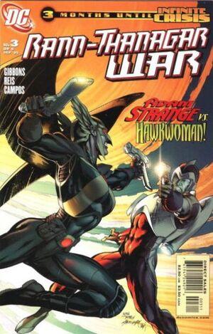 Cover for Rann-Thanagar War #3 (2005)
