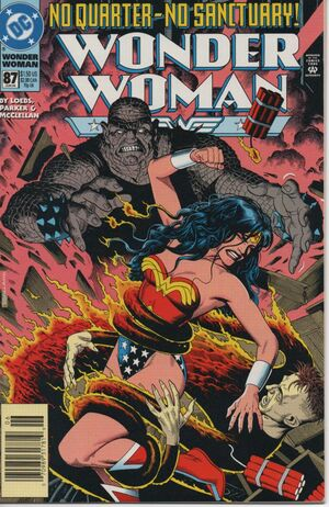 Cover for Wonder Woman #87 (1994)