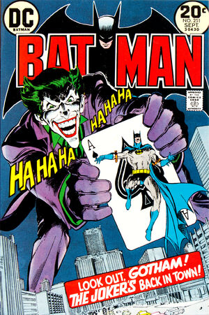 Cover for Batman #251 (1973)