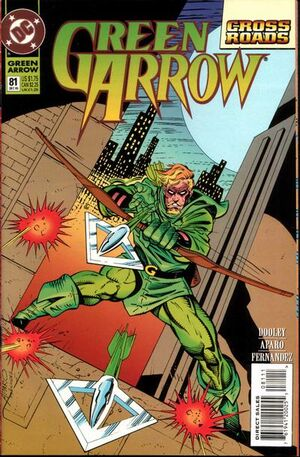 Cover for Green Arrow #81 (1993)
