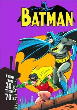 Cover for the Batman: From the 30's to the 70's Trade Paperback