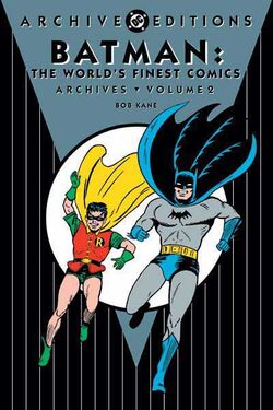 Cover for the Batman: The World's Finest Comics Archives Vol. 2 Trade Paperback