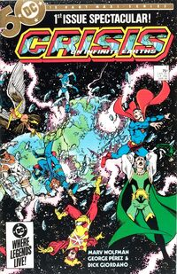 Crisis on Infinite Earths Vol 1 1