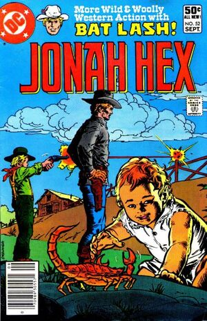 Cover for Jonah Hex #52 (1981)
