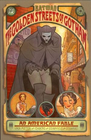 Cover for Batman: The Golden Streets of Gotham #1 (2003)