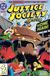 Justice Society of America Vol 2 1