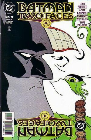 Cover for Batman: Two Faces #1 (1998)