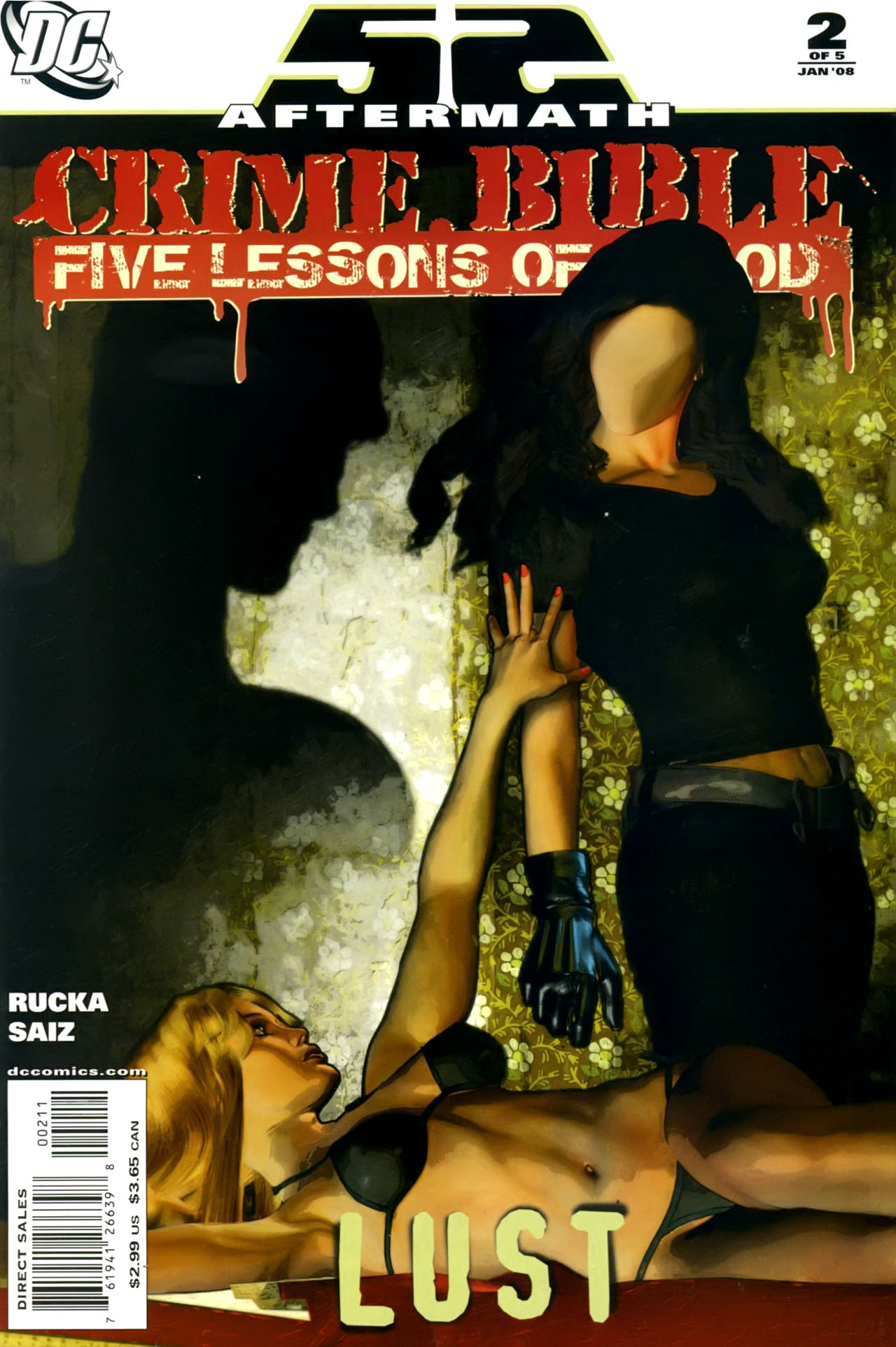 Crime bible the five lessons of blood 1 of 52 aftermath