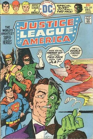 Cover for Justice League of America #125 (1975)