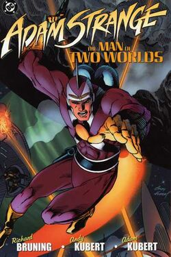 Cover for the Adam Strange: The Man of Two Worlds Trade Paperback