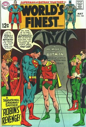 Cover for World's Finest #184 (1969)
