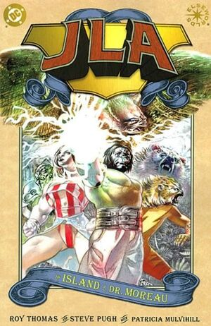 Cover for JLA: Island of Dr. Moreau #1 (2002)