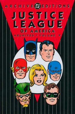 Cover for the Justice League of America Archives Vol 9 Trade Paperback