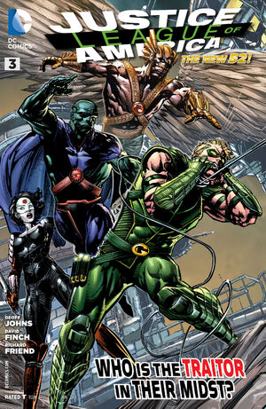 Cover for Justice League of America #3 (2013)