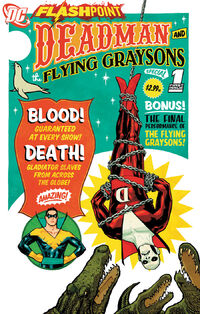 Flashpoint Deadman and the Flying Graysons Vol 1 1 Textless