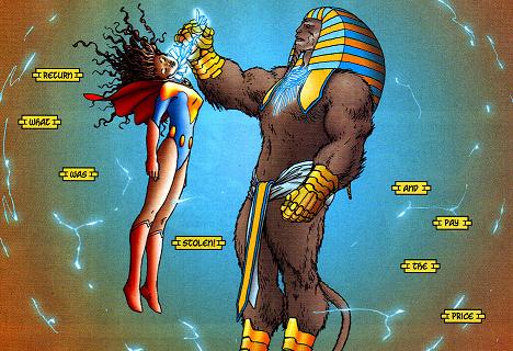 Ultrasphinx (All-Star Superman) 001