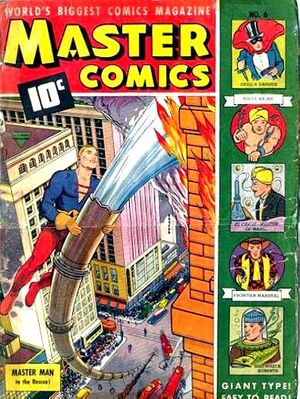 Cover for Master Comics #6 (1940)
