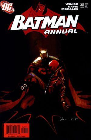 Cover for Batman Annual #25 (2006)