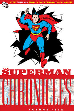 Cover for the Superman Chronicles Vol. 5 Trade Paperback