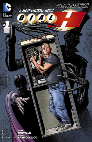 Cover for Dial H #1 (2012)