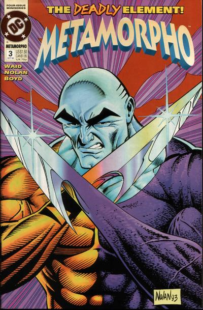 Metamorpho (Comic Book) - TV Tropes