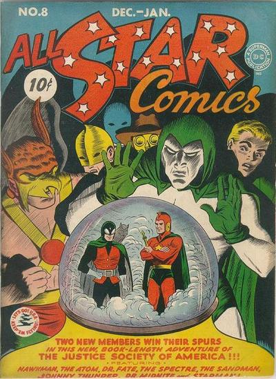 Image result for all star comics #8