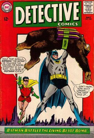 Cover for Detective Comics #339 (1965)