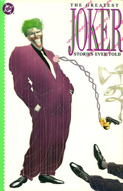 Cover for the The Greatest Joker Stories Ever Told Trade Paperback