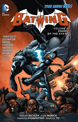 Cover for the Batwing: Enemy of the State Trade Paperback