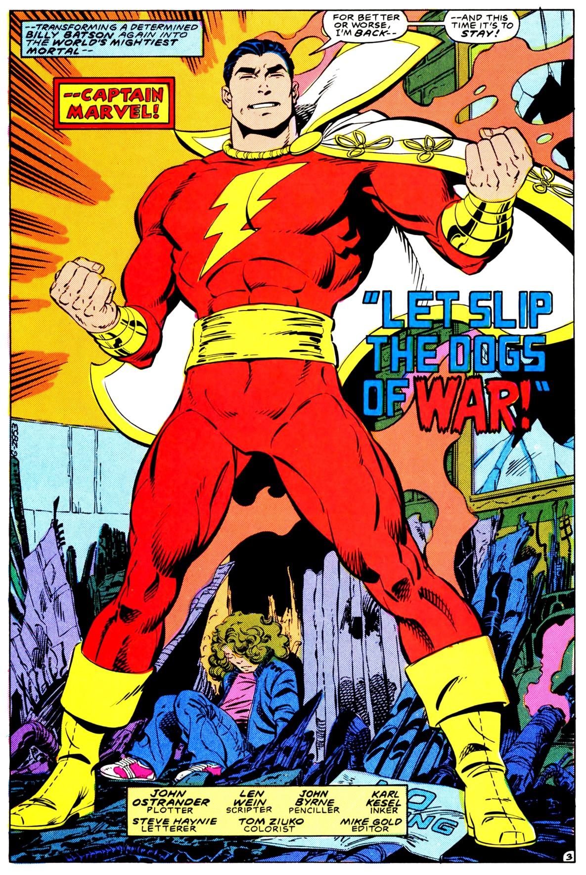 Captain Marvel Dc