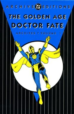 Cover for the The Golden Age Doctor Fate Archives Vol. 1 Trade Paperback