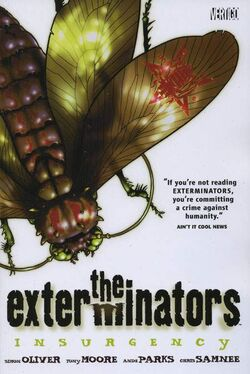 Cover for the Exterminators: Insurgency Trade Paperback