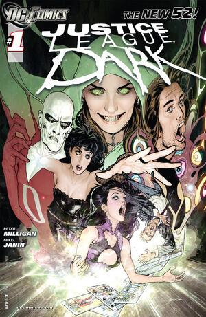 Cover for Justice League Dark #1 (2011)